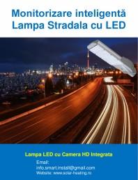 Monitorizare inteligenta - Lampi stradale cu LED