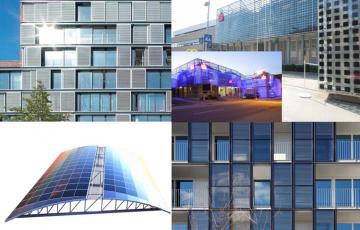 Panouri solare pentru apa calda  Sistemele solare termodinamice SMART INSTAL pentru apa calda menajera si incalzire se bazeaza pe sisteme de pompe de caldura, cu utilizare solara, capabil de a capta energia solara pentru a incalzi apa.