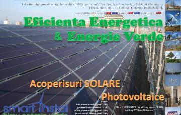 Acoperisuri solare PV SMART INSTAL