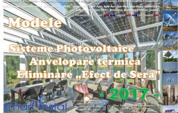 Modele Montaj PHOTOVOLTAICE Fatade-Acoperis SMART INSTAL