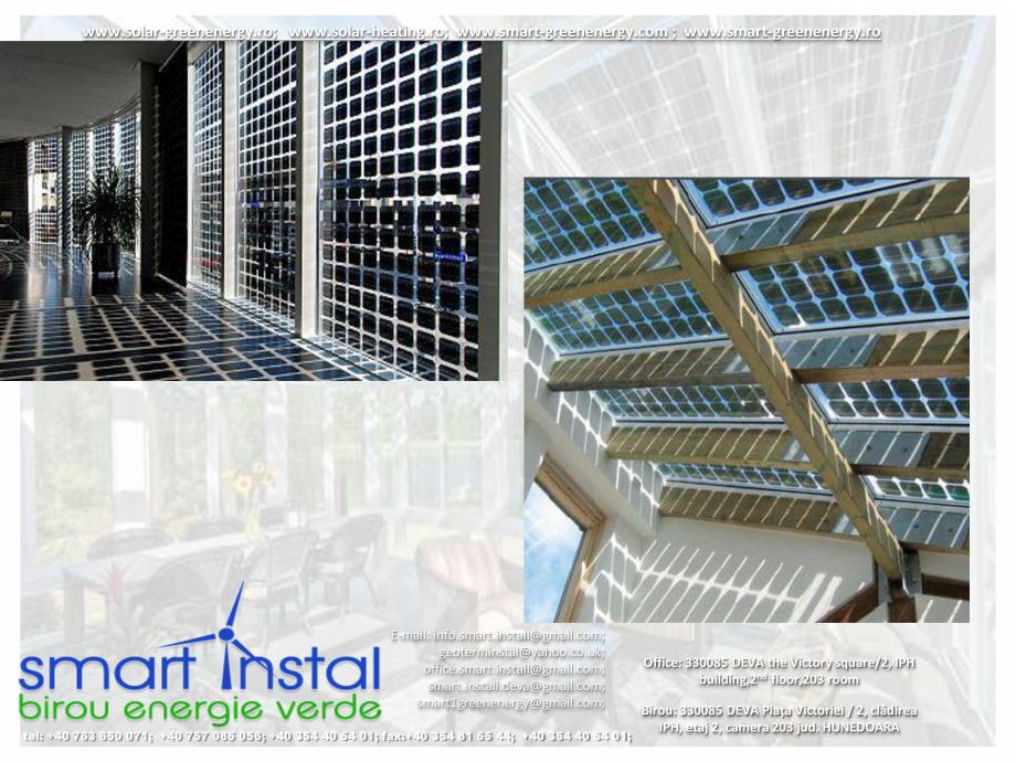 Pagina 2 - Modele Montaj PHOTOVOLTAICE Fatade-Acoperis SMART INSTAL Catalog, brosura Romana il: info...