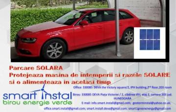 SOLAR CarPort SMART INSTAL