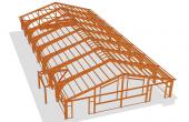 Proiectare structuri din lemn lamelat incleiat  Creativitatea arhitectilor poate fi pusa in practica folosind flexibilitatea lemului lamelat incleiat si printr-o stransa colaborare cu inginerii structuristi din cadrul Glulam s.a..