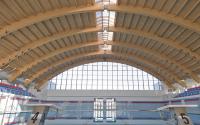 Grinzi, cadre si arce din lemn lamelat incleiat pentru acoperisuri Grinzile din lemn lamelat incleiat,cadrele si arcele de la Glulam S.A. poarta marcajul CE de Conformitate Europeana si sunt utilizate pentru constructia acoperisurilor.
