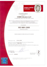 Certificare Tego ISO 9001:2008 EUROPEAN PRODUCER