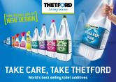 Fisa tehnica pentru produsele de curatare a toaletelor portabile THETFORD
