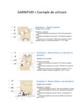 GARNITURI - Exemple de utilizare Tràfilo
