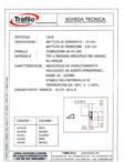 Seria TRIPLEX - Garnitura secundara Tràfilo - TRIPLEX - 1619