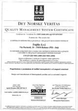 Certificat ISO 9001 Tràfilo