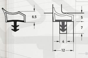 Garnituri pentru ferestre si usi de interior DEVENTER va ofera o gama variata de garnituri pentru ferestre si usi de interior. Garniturile se monteaza pe cercevea sau pe toc.Garanteaza o conductibilitate termica scazuta si o excelenta izolare acustica.
