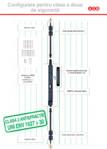 Broasca de siguranta pentru obloane Ariete configurare pentru antiefractie / Feronerie pentru obloane din lemn si aluminiu / W-TECH