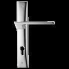 Maner usa cu placa - Maner pentru usi de interior si de exterior - JET