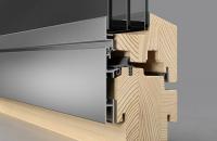 Ferestre din lemn placat cu aluminiu Ferestrele din lemn placat cu aluminiu Josko sunt o solutie pentru arhitectura moderna cu o grosime de 82 mm. Fereastra si tocul sunt coplanare.