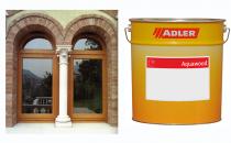 Vopsele si lacuri ecologice pentru ferestre si usi din lemn, pentru exterior Vopselele si lacurile ecologice pe baza de apa Adler sunt recomandate pentru aplicarea pe usi si ferestre de exterior stabile dimensional. Se aplica prin pulverizare.