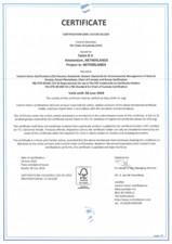 Certificat FSC Solidfloor Solidfloor