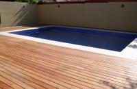 Montaj pardoseli pentru terase si piscine, tip decking