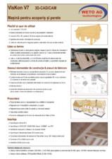 Catalog - Software 3D - CAD/CAM - Viskon V7 WETO AG