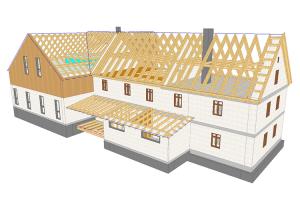 Software 3D - CAD pentru constructii din lemn, structuri de sprijin si asamblarea elementelor Software-urile WETO ofera programe atat pentru tamplari, pentru cei care proiecteaza structuri din lemn si standuri, cat si pentru cei care proiecteaza cladiri construite partial din lemn sau case din lemn.
