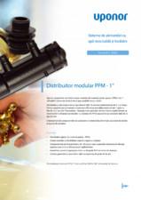 Distribuitor modular pentru sisteme de incalzire si apa potabila (rece si calda) UPONOR