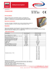 Placi din vata minerala bazaltica pentru fatade TECHNONICOL