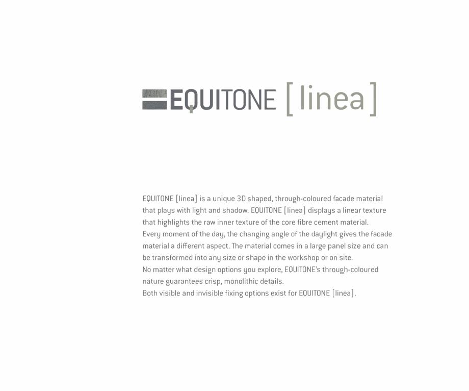 Pagina 5 - Fatade ventilate din fibrociment - Ghid de texturi si culori EQUITONE [tectiva] [tectiva]...