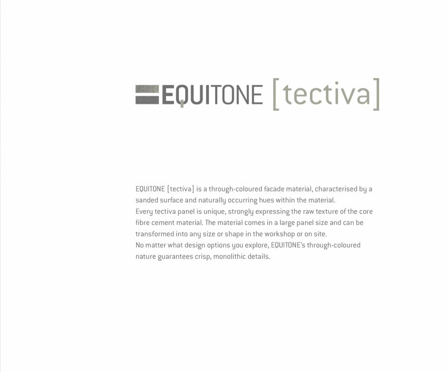 Pagina 7 - Fatade ventilate din fibrociment - Ghid de texturi si culori EQUITONE [tectiva] [tectiva]...