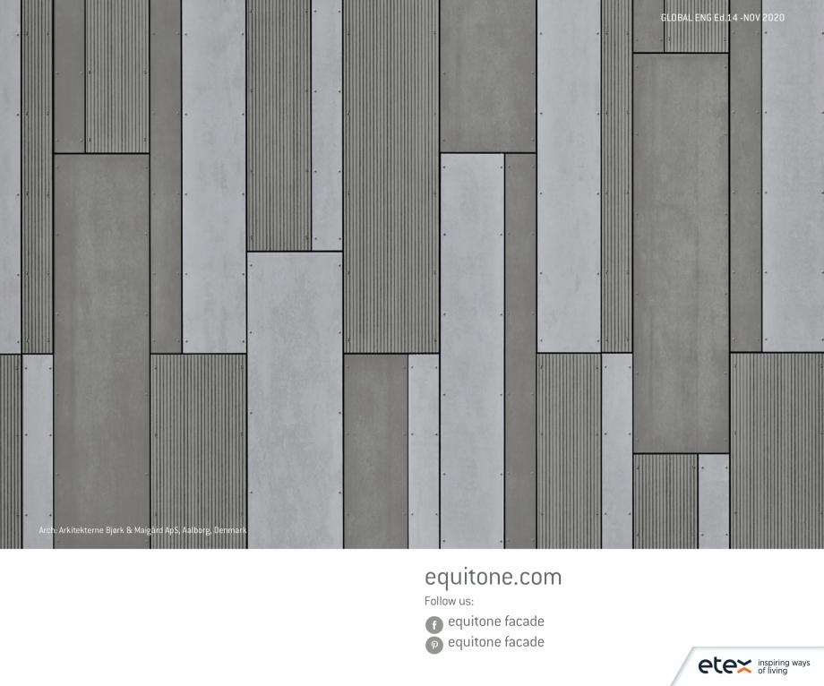 Pagina 16 - Fatade ventilate din fibrociment - Ghid de texturi si culori EQUITONE [tectiva]...