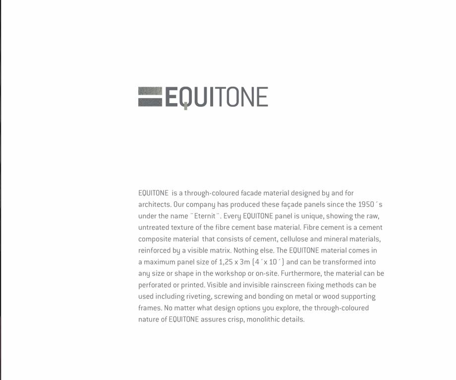 Pagina 3 - Fatade ventilate din fibrociment - Ghid de texturi si culori EQUITONE [natura] [natura], ...