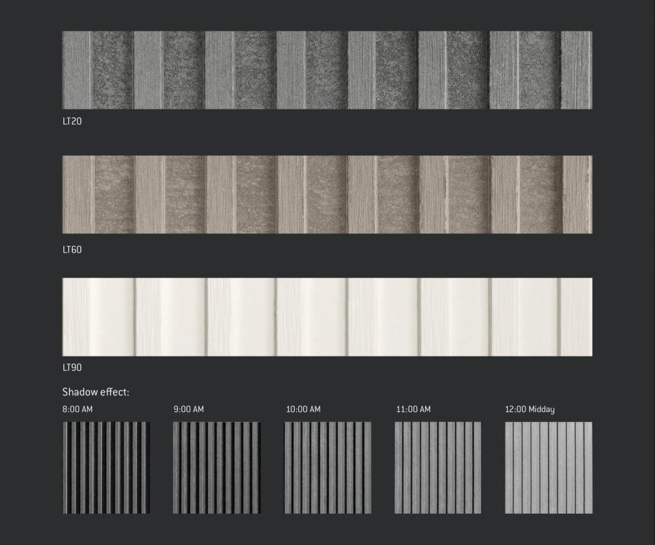 Pagina 4 - Fatade ventilate din fibrociment - Ghid de texturi si culori EQUITONE [natura] [natura], ...
