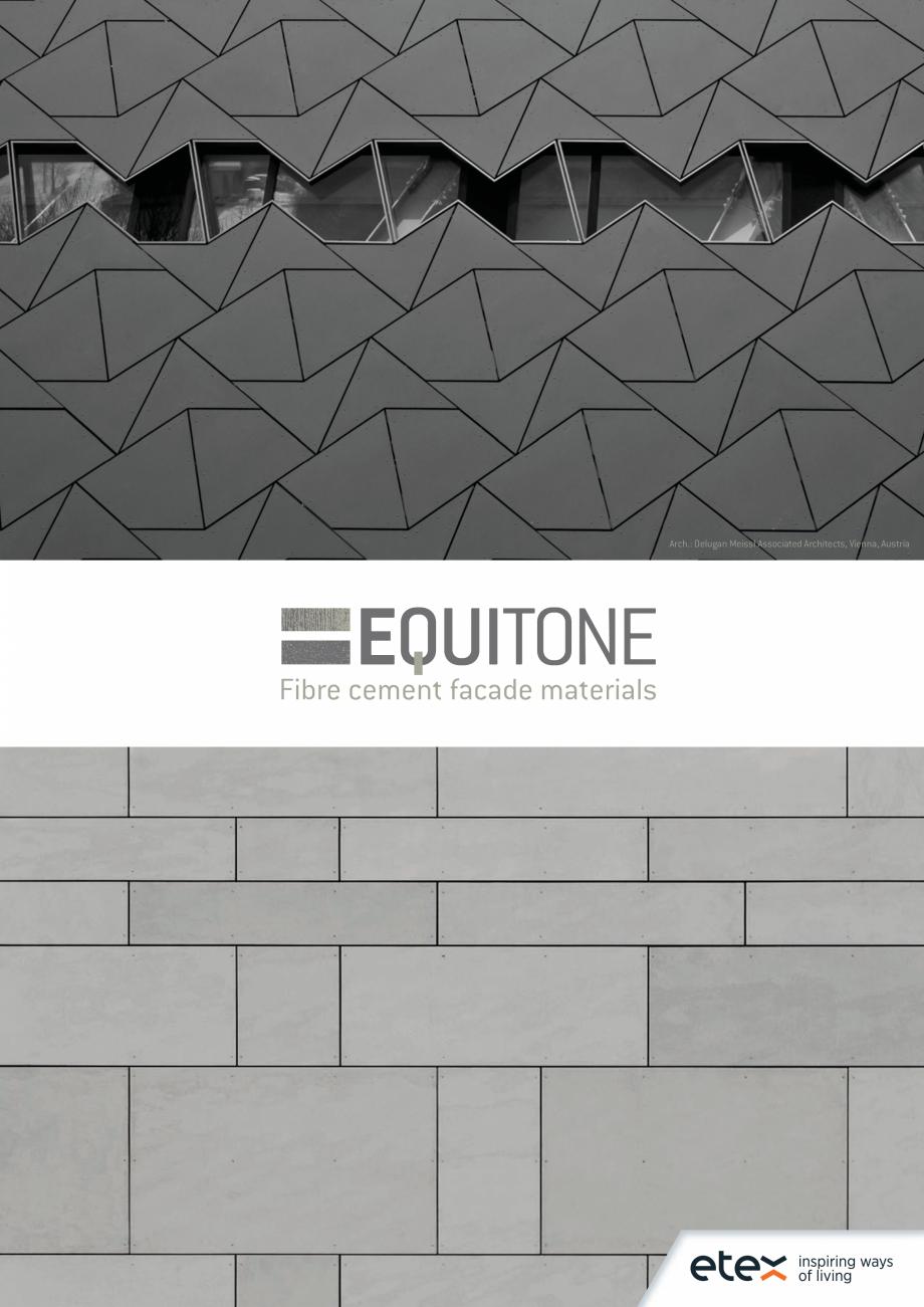 Pagina 1 - EQUITONE fatade ventilate din fibrociment - Prezentare materiale EQUITONE [natura]...