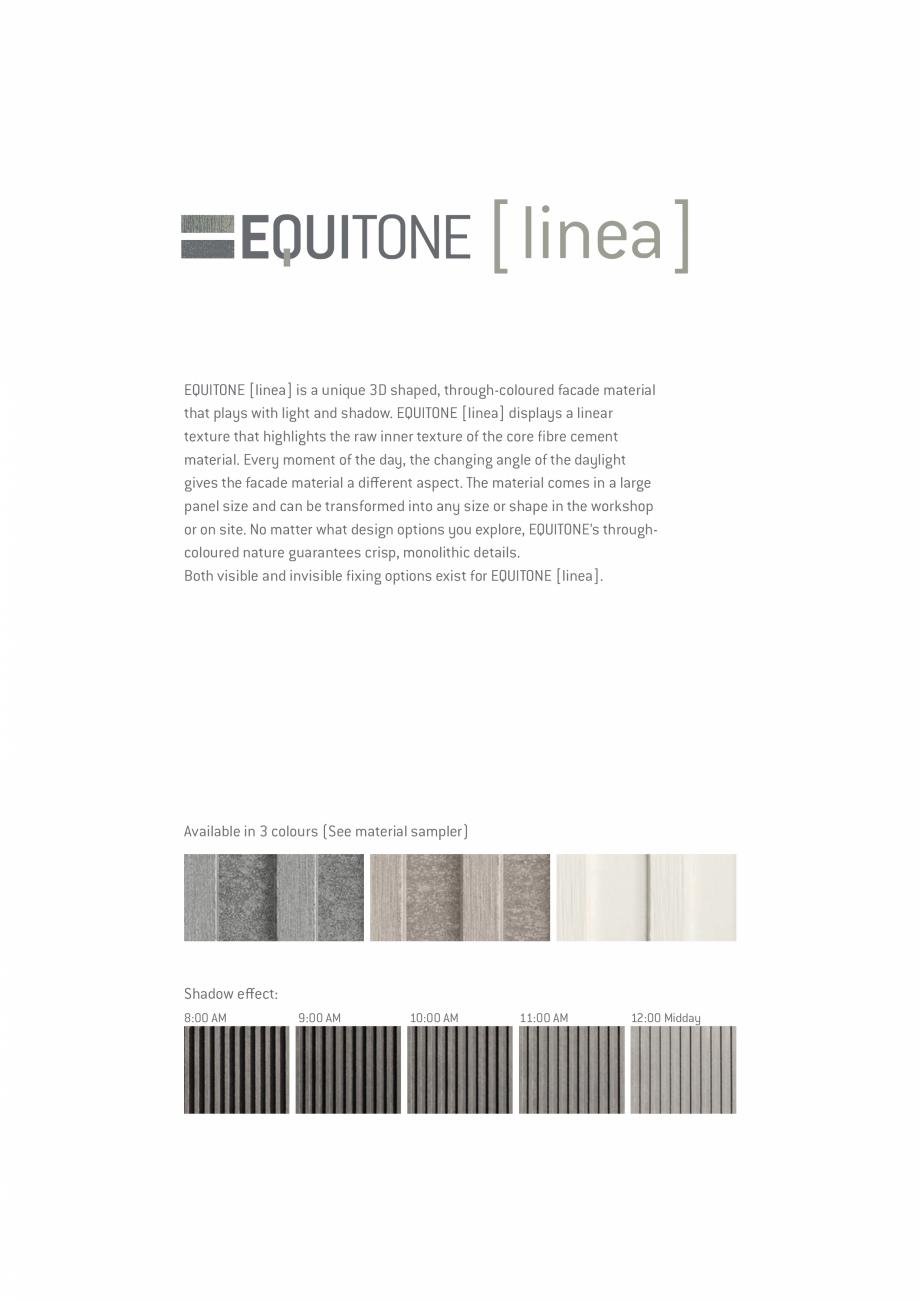 Pagina 8 - EQUITONE fatade ventilate din fibrociment - Prezentare materiale EQUITONE [pictura] ...