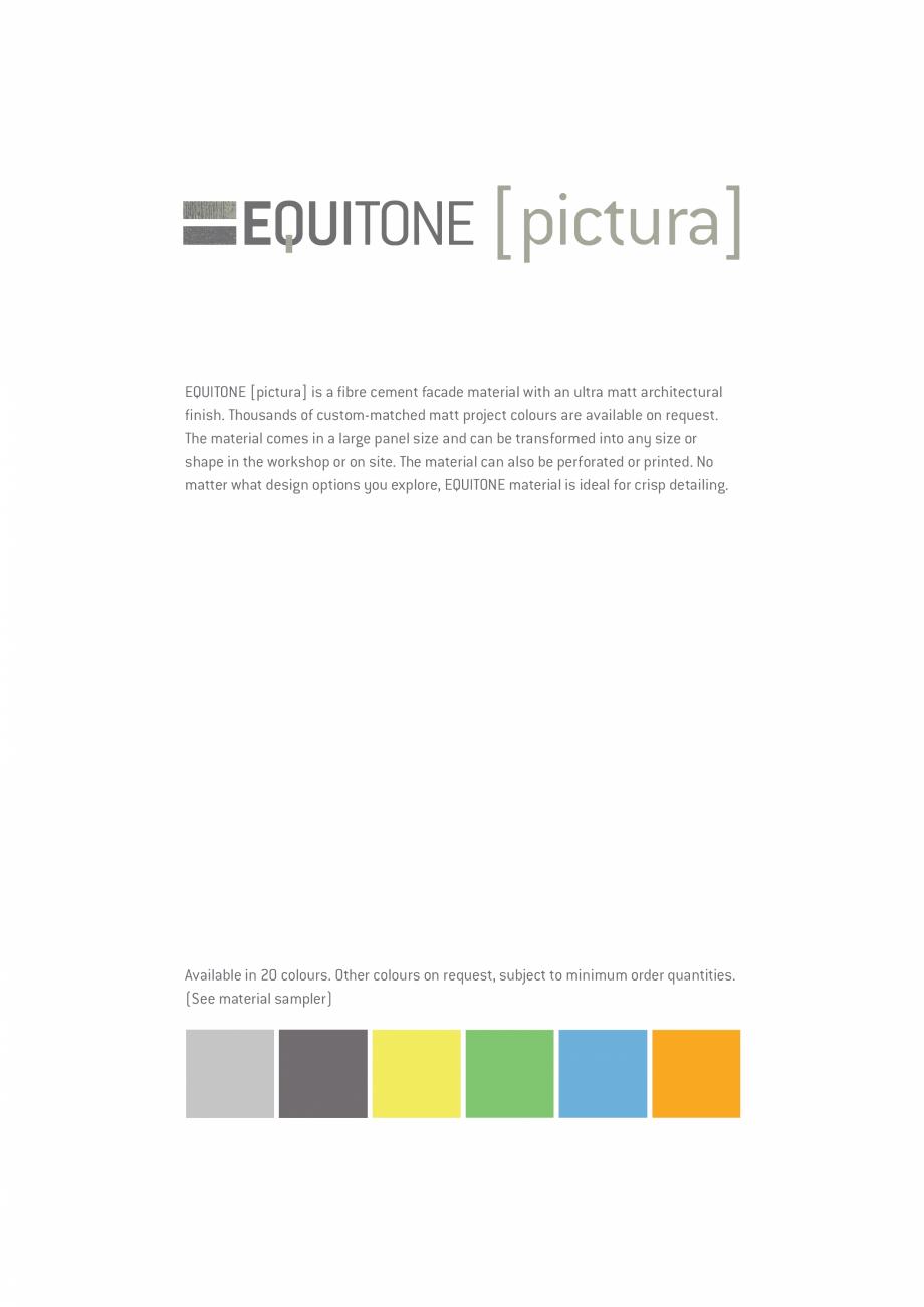 Pagina 18 - EQUITONE fatade ventilate din fibrociment - Prezentare materiale EQUITONE [pictura] ...
