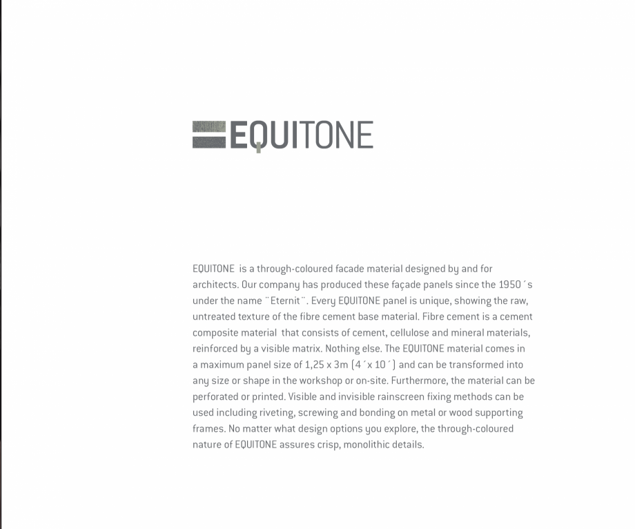Pagina 3 - Fatade ventilate din fibrociment - Ghid de texturi si culori  EQUITONE [pictura] ...