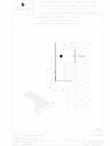 Placa de fibrociment nituita pe structura de aluminiu - Detaliu parte inferioara  / Placi de fibrociment pentru fatade ventilate / EQUITONE