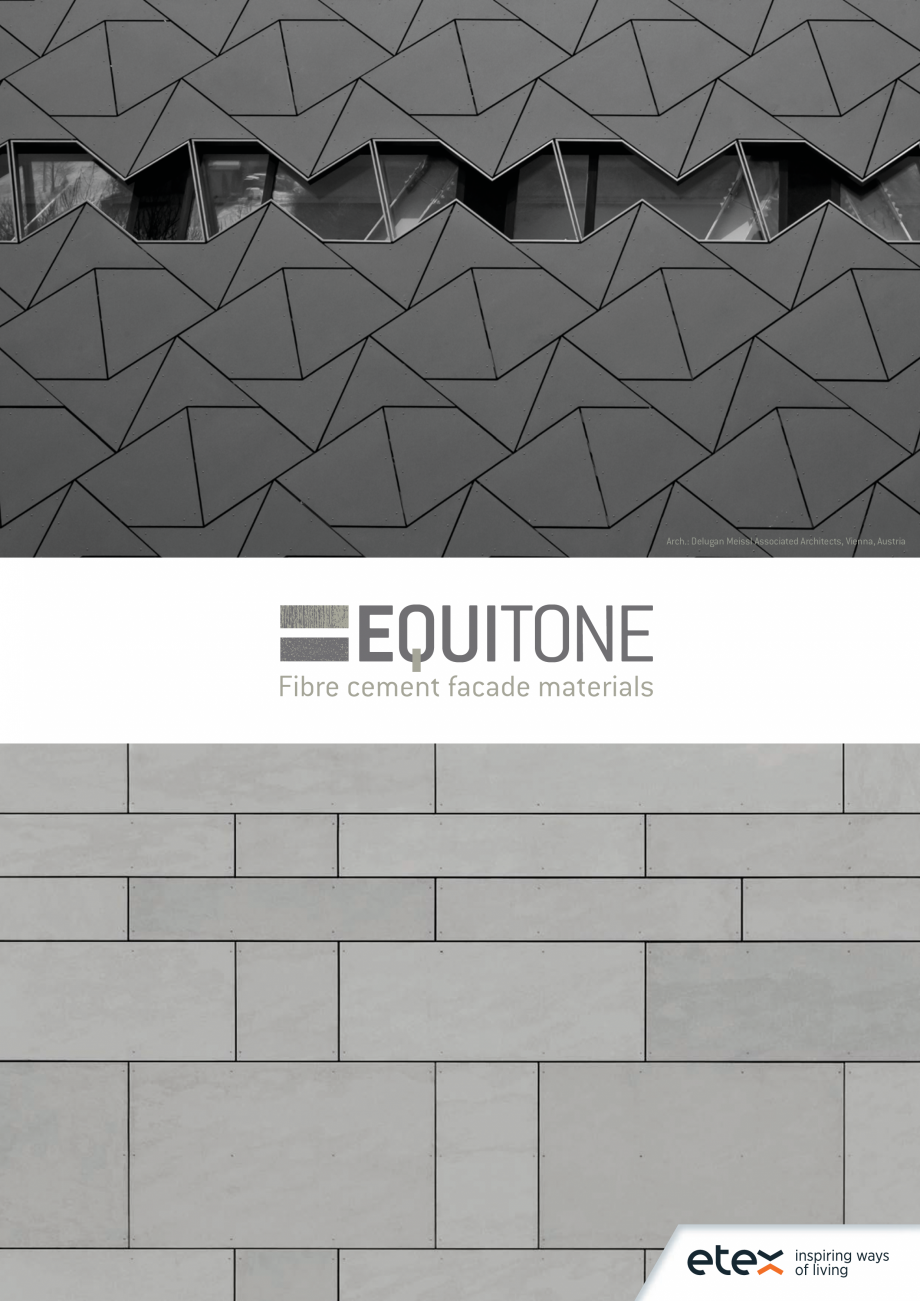 Pagina 1 - EQUITONE fatade ventilate din fibrociment - Prezentare materiale EQUITONE [linea] [linea]...