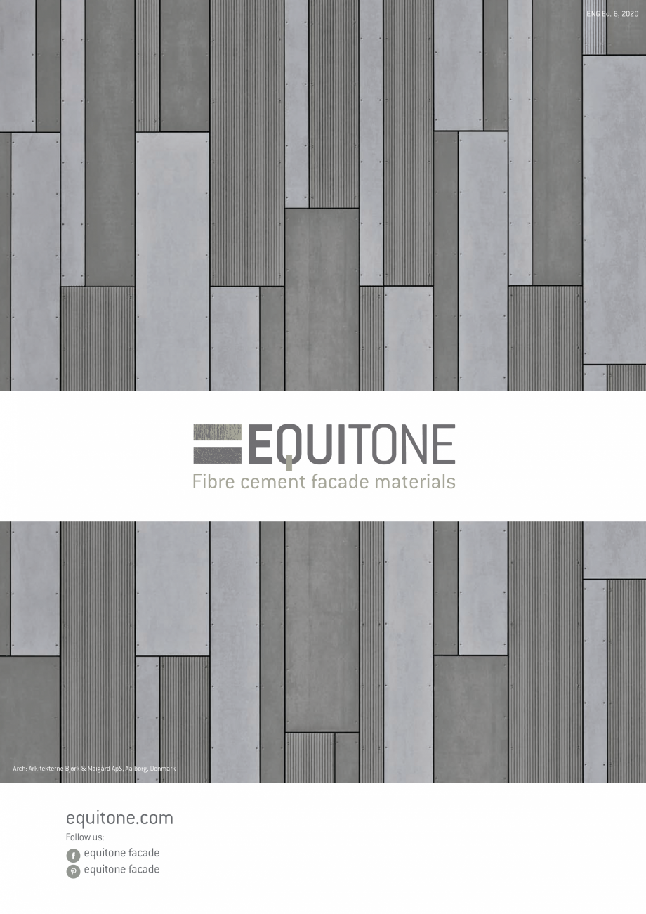 Pagina 20 - EQUITONE fatade ventilate din fibrociment - Prezentare materiale EQUITONE [linea]...