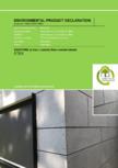 Declaratie de conformitate placi de fibrociment pentru fatade ventilate EQUITONE [linea] - [linea], [lunara]