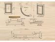 Schite tehnice accesorii mobilier - dimensiuni standard by SOLO Mobili