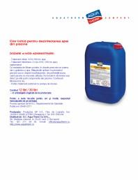 Clor lichid pentru dezinfectarea apei din piscine