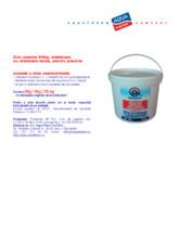 Clor pastile 200g, stabilizat, cu dizolvare lenta, pentru piscine AQUA THERM