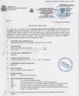 Decizie de omologare AQUA THERM - QUIMIFLOC PS LICHID