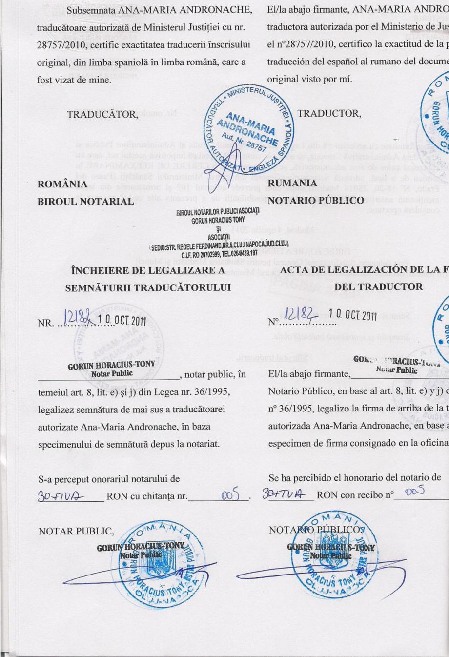 Certificare produs Decizie de omologare QUIMIFLOC PS LICHID QUIMICAMP Substante pentru tratarea apei din piscine AQUA THERM CO  - Pagina 4