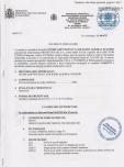 Decizie de omologare AQUA THERM - ALBORAL CLOR SOC PASTILE