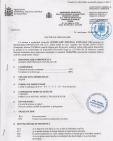 Decizie de omologare AQUA THERM - ALGICID 100 LICHID