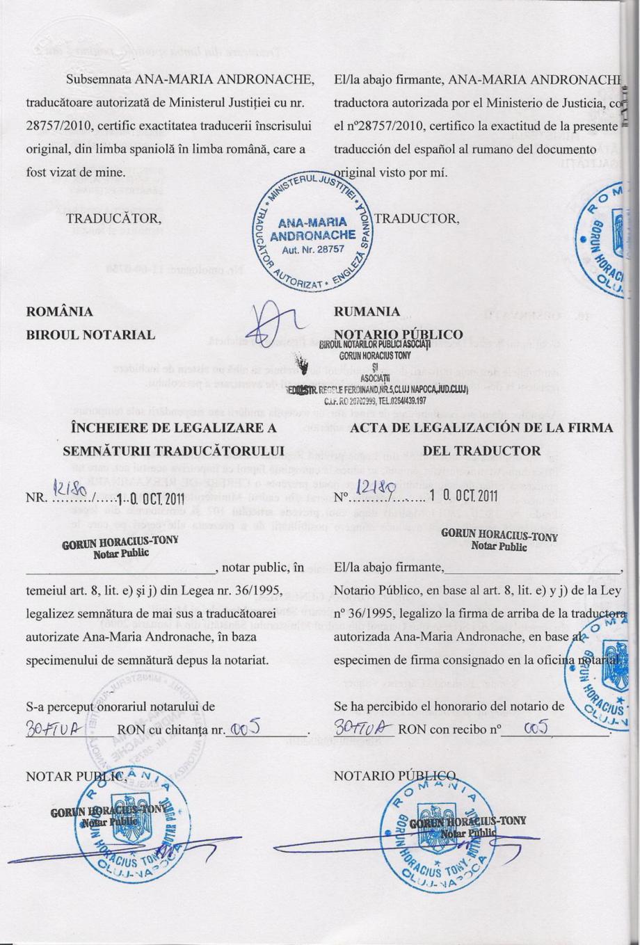 Certificare produs Decizie de omologare ALGICID 100 LICHID QUIMICAMP Substante pentru tratarea apei din piscine AQUA THERM CO  - Pagina 4