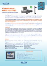 Sterilizatoare UV pentru piscine publice BIO-UV