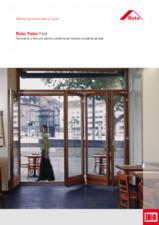Feronerie premium pentru sisteme armonice-culisante ample ROTO