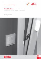 Dispozitiv electric ascuns, integrat in feronerie ROTO