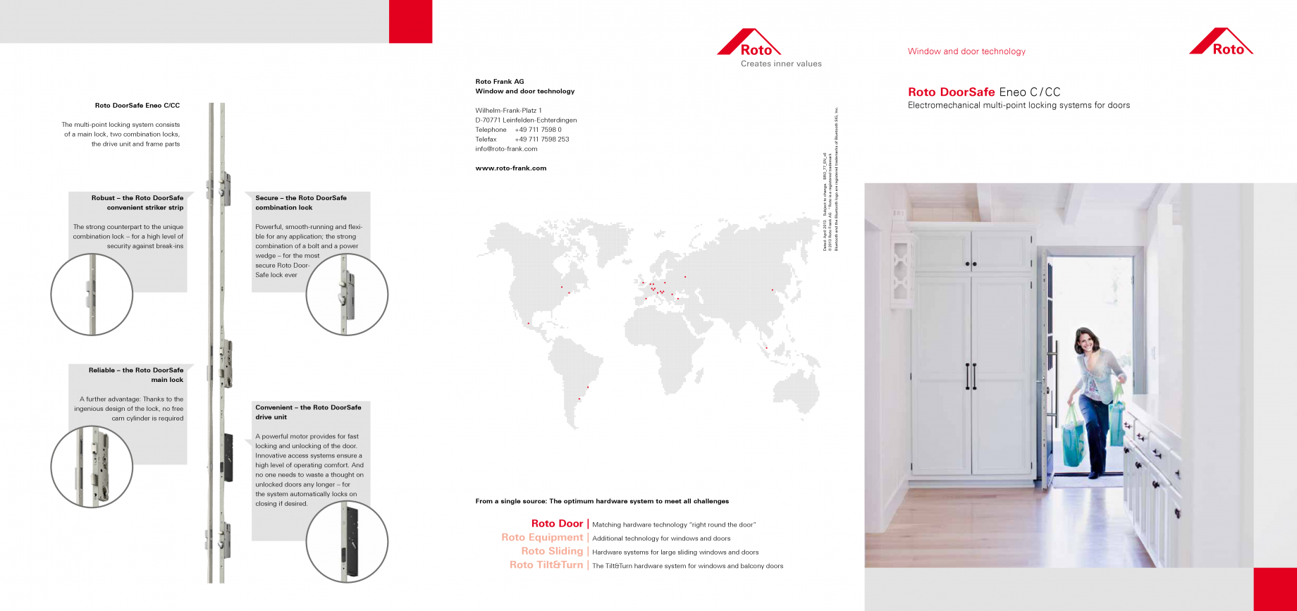 catalog brosura roto doorsafe eneo c cc sisteme. Black Bedroom Furniture Sets. Home Design Ideas
