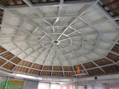 Izolatii spuma poliuretanica cupole lemn / Izolatie-spuma-poliuretanica-cupola-lemn-12